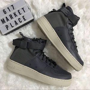 NEW Nike SF AF1 Mid GS Dar Grey Women's Size 8.5